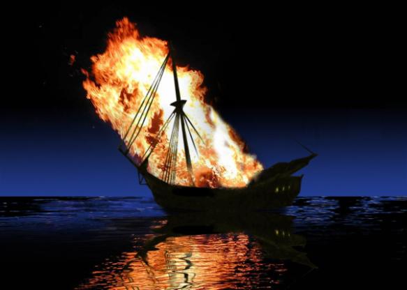 burntheboat